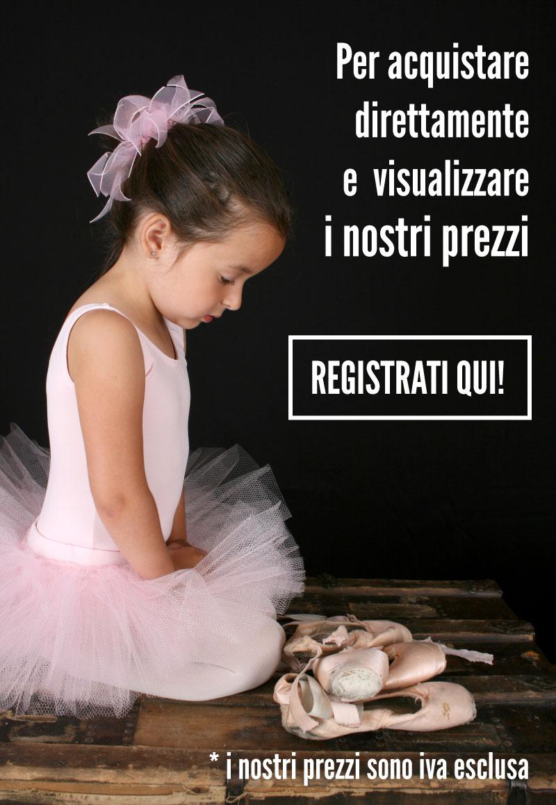 Registrazione Scuole di danza e Rivenditori